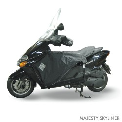 Tablier scooter Tucano Urbano Termoscud® R038X MBK Skyliner & Yamaha Majesty 125